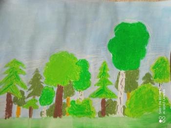 las w wybranej porze roku