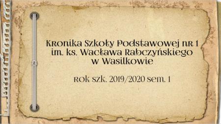 Kronika 2019/2020 sem. 1