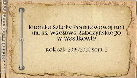 Kronika 2019/2020 sem. 2