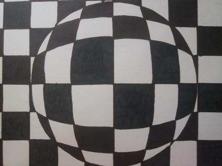 Op-art, czyli siódmoklasiści-iluzjoniści
