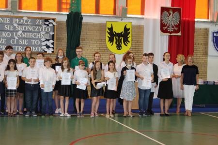 Zakończenie roku w klasach IV-VII