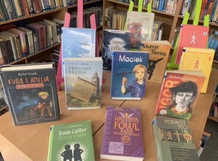 Biblioteka poleca na Dzień Chłopaka