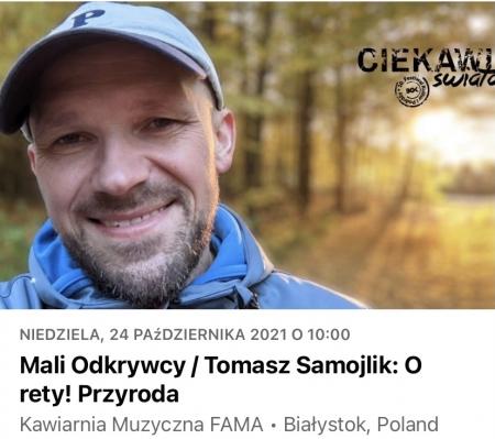Biblioteka poleca - spotkanie z Tomaszem Samojlikiem