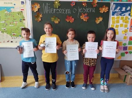 Konkurs recytatorski  o jesieni